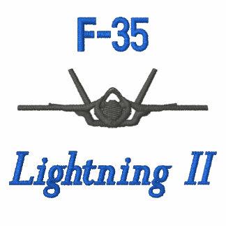 F-22 broderad utslagsplatsskjorta W/Callsign