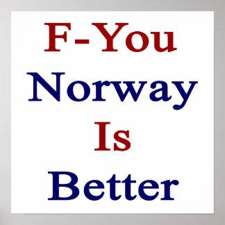 F är du norgen bättre affisch