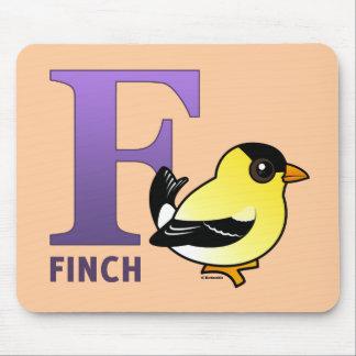 F är för Finch Musmatta