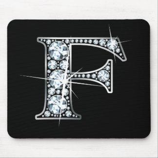 """""""F-"""" diamant Bling Mousepad Musmatta"""