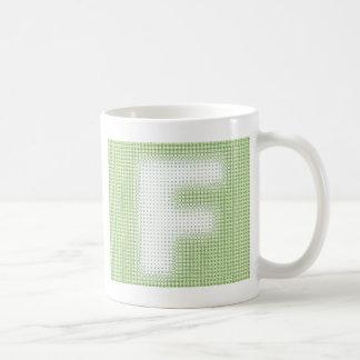 F-Monogram Kaffemugg