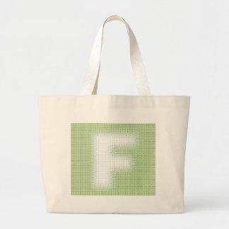 F-Monogram Tote Bags