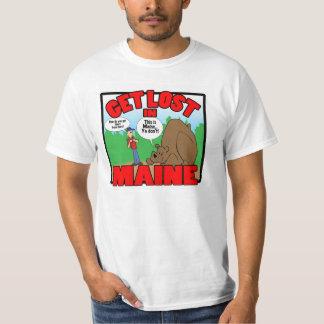 Få borttappad i Maine-björn T-shirts