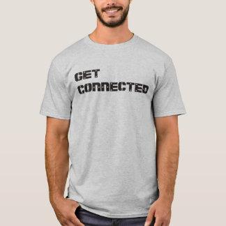 """""""Få den förbindelse"""" t-skjortan Tee Shirts"""