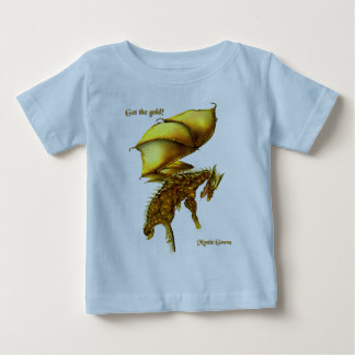 Få den guld- begynna T-tröja T Shirts