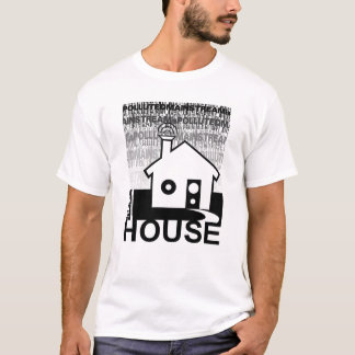 Få i husmusiken tröja