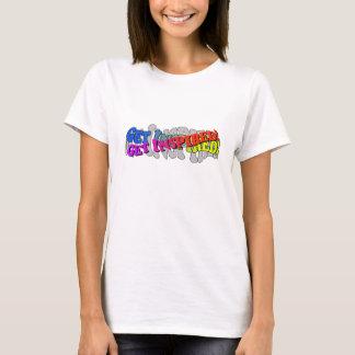 Få inspirerad - grundläggande kvinna T-tröja Tee Shirts