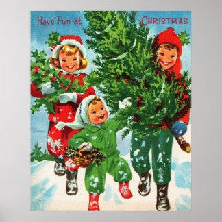 Få julgranaffischen poster