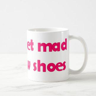 Få ny skor kaffemugg