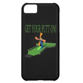Få på din Putt iPhone 5C Fodral