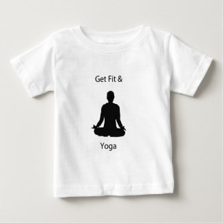 få passformen och yoga t shirt