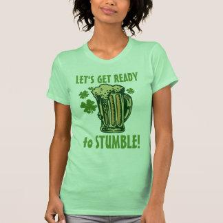 Få redot för att snubbla tee shirts