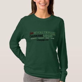 Få revolutionären, inspireras (armén tonar tee shirt
