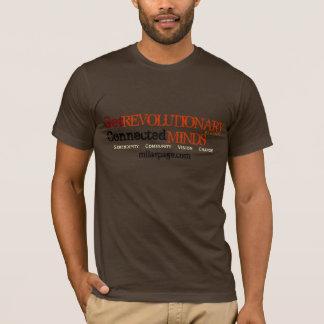 Få revolutionären, inspireras (bruntet) tröjor