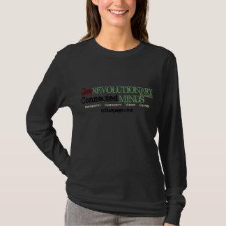 Få revolutionären, inspireras (svarten) t shirts