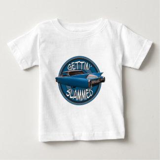 få smällda i Cadillac himmelblått 1960 T-shirts