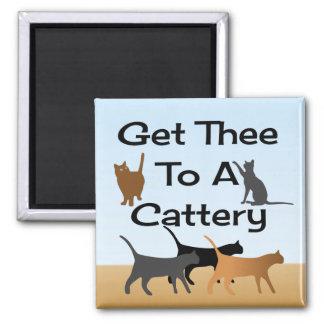 Få Thee till en Catterymagnet Magnet