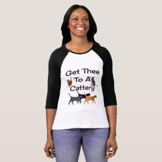Få Thee till en Catteryskjorta Tee