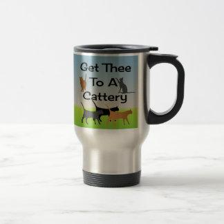 Få Thee till en Catterytravel mug Resemugg