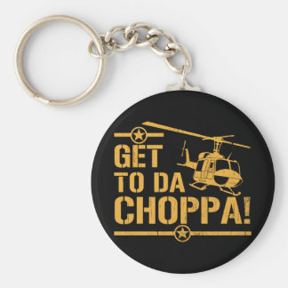Få till vintage för Da Choppa Rund Nyckelring