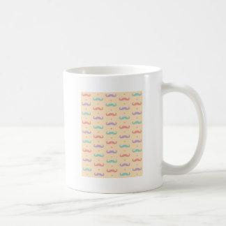 Fab pastellfärgad populär gåva för vit mugg