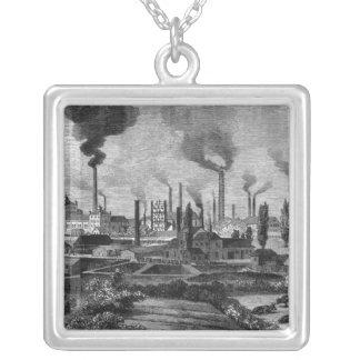 Fabrik för Herr Krupps i Essen, Tyskland Silverpläterat Halsband