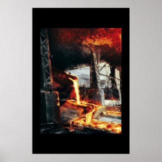 Fabrik för hettmetallCD Poster