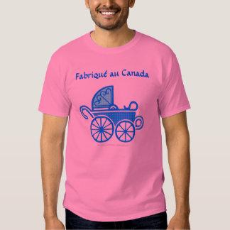 Fabriqu au Kanada (pojken) Tröjor