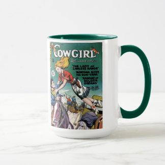 """""""Fabulerar cowgirlen"""" muggen för kaffe #2 Mugg"""