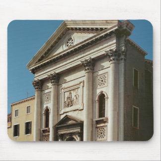Facade av kyrkan av den Santa Maria dellaen Musmatta
