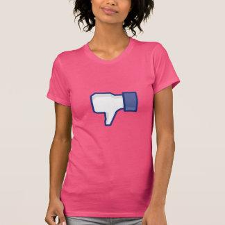 Facebook motvilja knäppas - roligt t-shirts