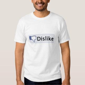 Facebook motviljat-skjorta tee