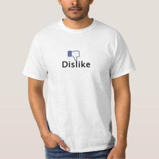 facebookmotvilja knäppas t shirts