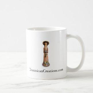 Faceless dockakaffekopp kaffemugg
