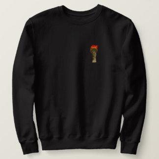 Facklan flammar lång ärmad tröja