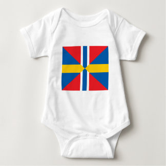 Facklig flagga för norgesverige tshirts