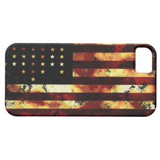 Facklig flagga, inbördeskrig, stars och stripes, iPhone 5 Case-Mate fodral