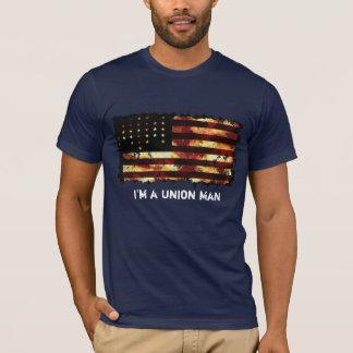 Facklig flagga, inbördeskrig, stars och stripes, t shirts