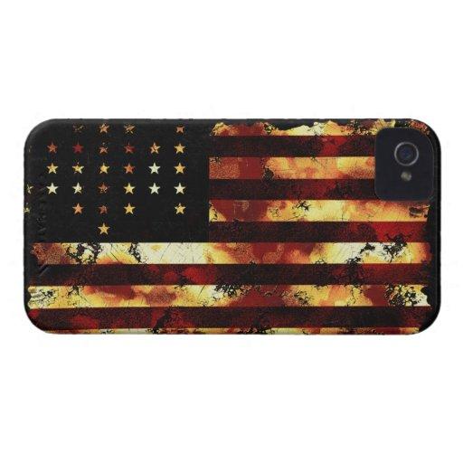 Facklig flagga, inbördeskrig, stars och stripes, U iPhone 4 Cases