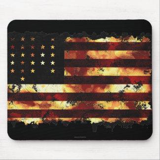 Facklig flagga, inbördeskrig, stars och stripes, U Mus Matta