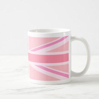 Facklig flagga/jackdesignPinks Kaffemugg