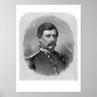 Facklig General George McClellan Poster