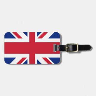 Facklig jack - flagga av Förenade kungariket Bagagebricka