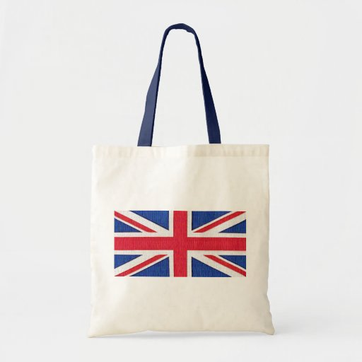 Facklig jack - flagga av Förenade kungariket Tygkasse