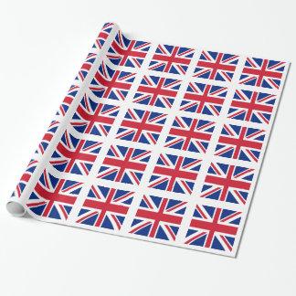 Facklig jack - flagga av Förenade kungariket Presentpapper