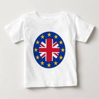 Facklig jack för E. - Europeiska unionflagga - Tee Shirt