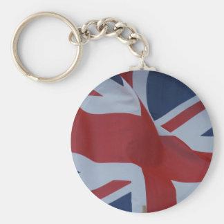 facklig jack för flagga rund nyckelring