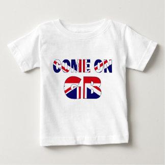 Facklig jack för lagGB T-shirts