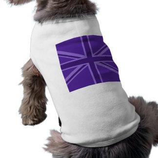 Facklig jack för vibrerande lilafärg husdjurströja