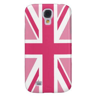 Facklig jack~ i flickaktigt Pinks Galaxy S4 Fodral